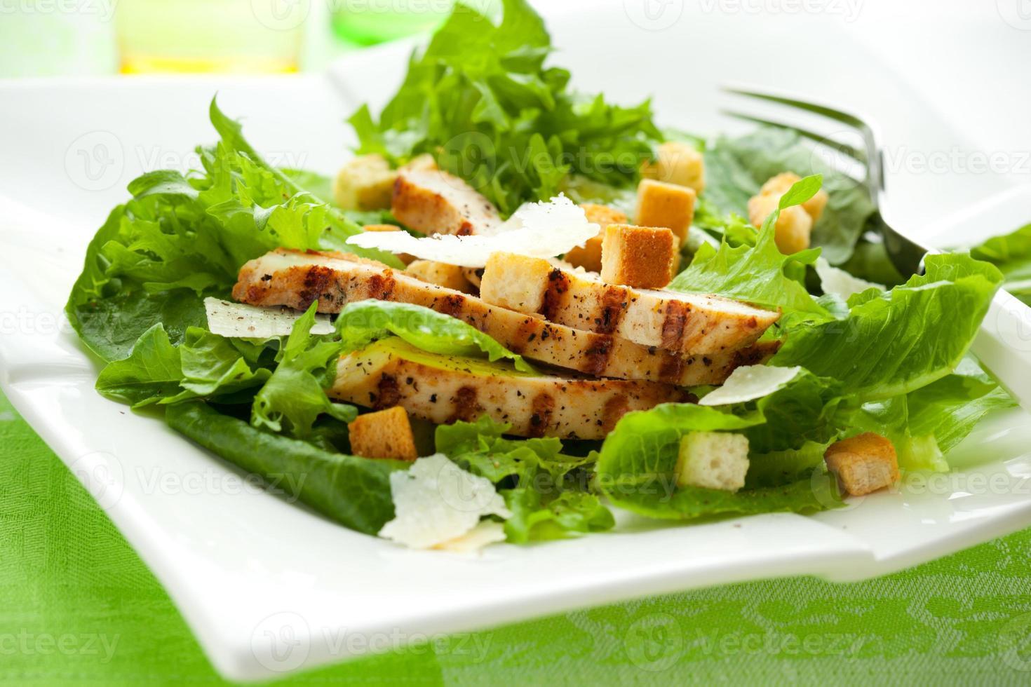 Chicken Caesar salad photo