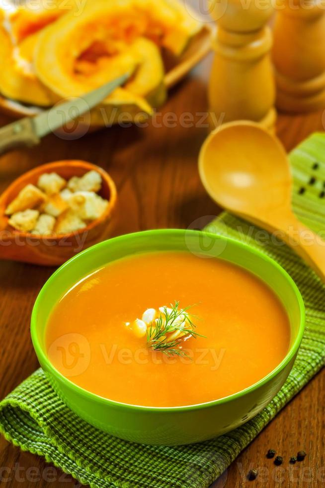 Cream soup photo