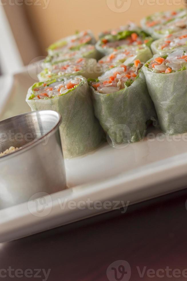 Vietnamese Spring Rolls photo