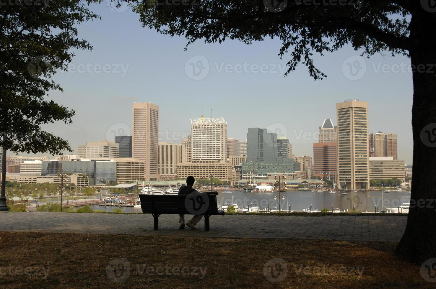 Baltimore from the hill photo