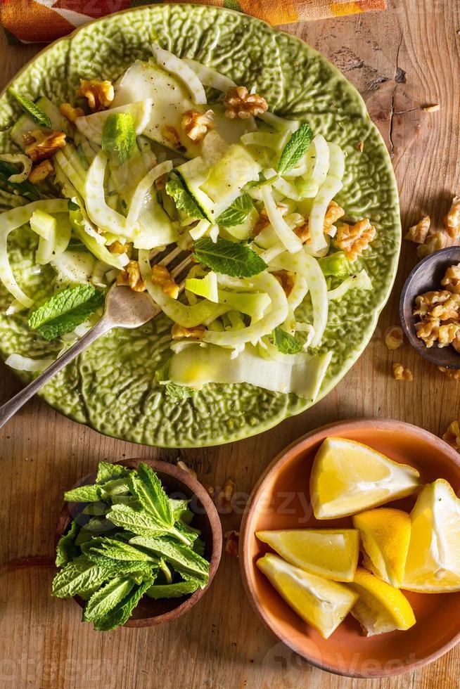 Fennel salad photo