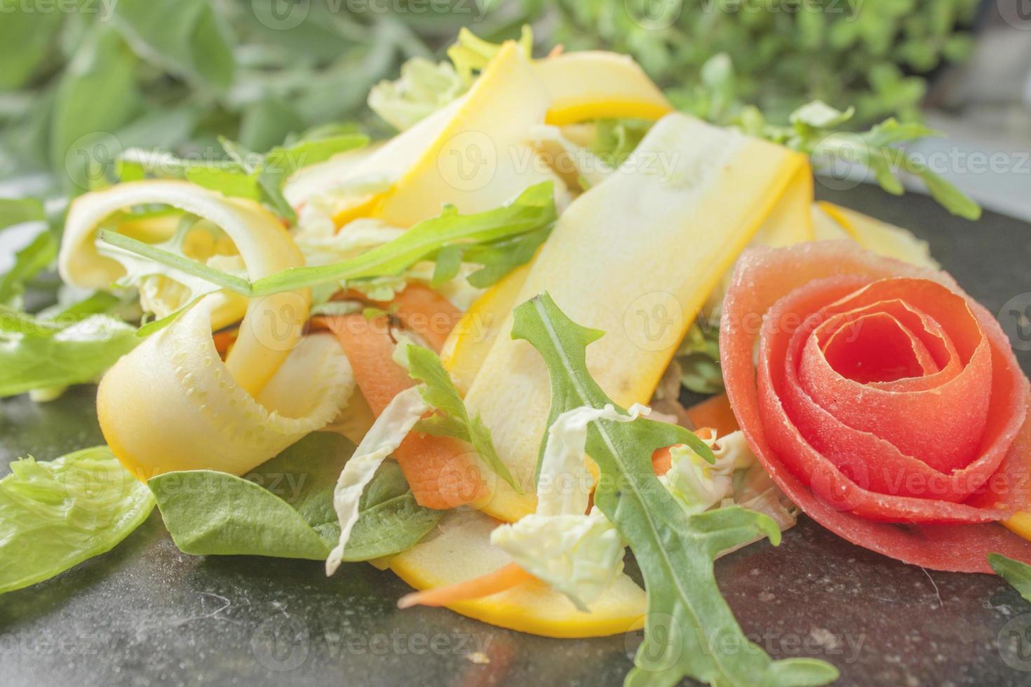 Zucchini salad photo