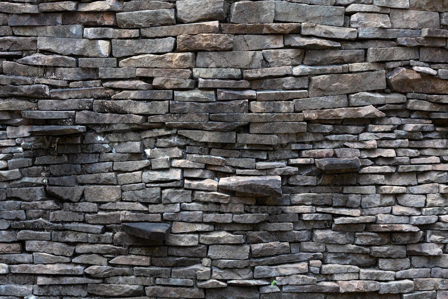 losa de roca sucia foto