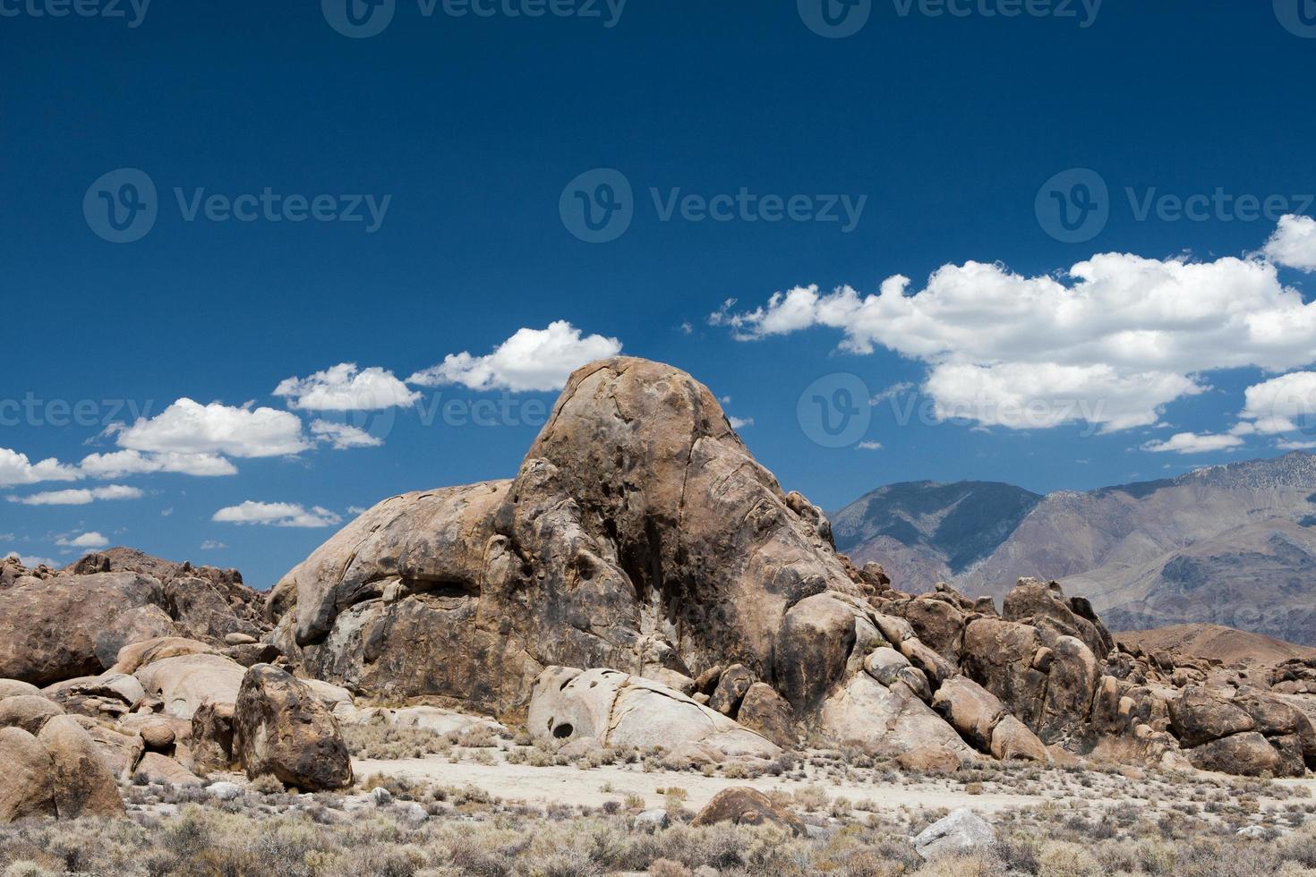 Elephant rock formation photo