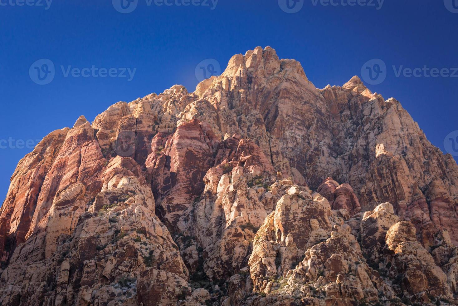 cañón de roca roja foto