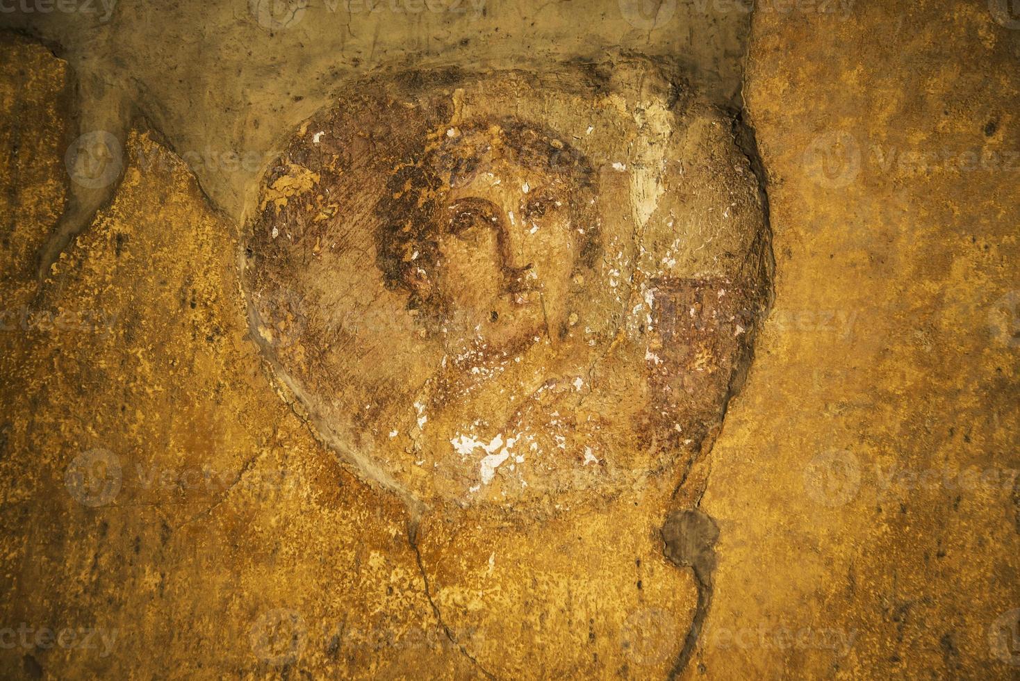 Pompeii frescoes photo
