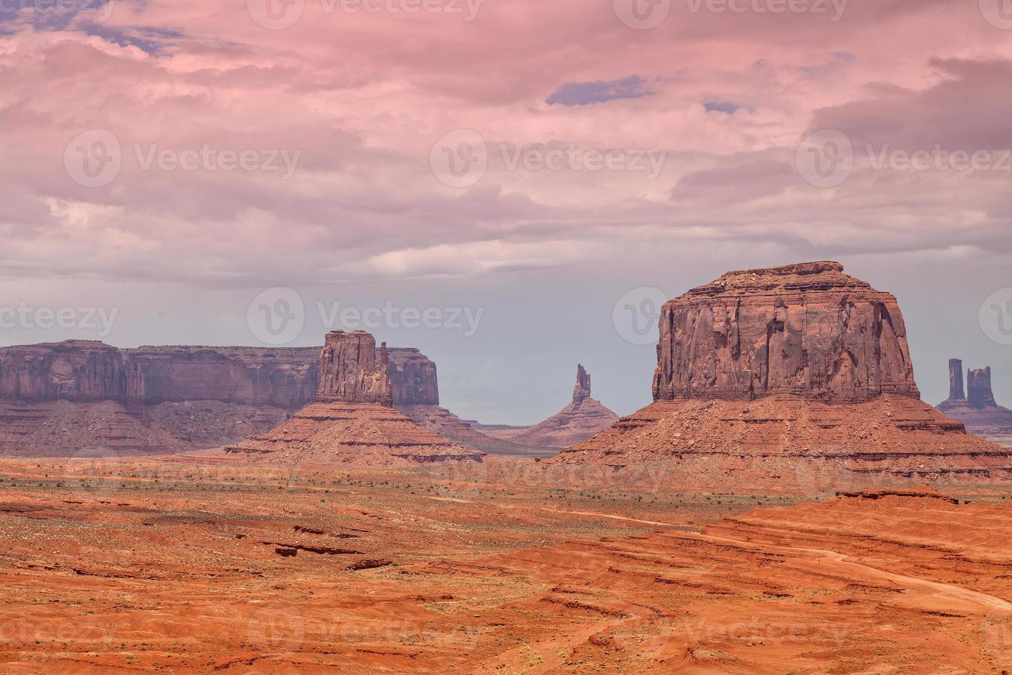 paisaje escénico del valle del monumento foto