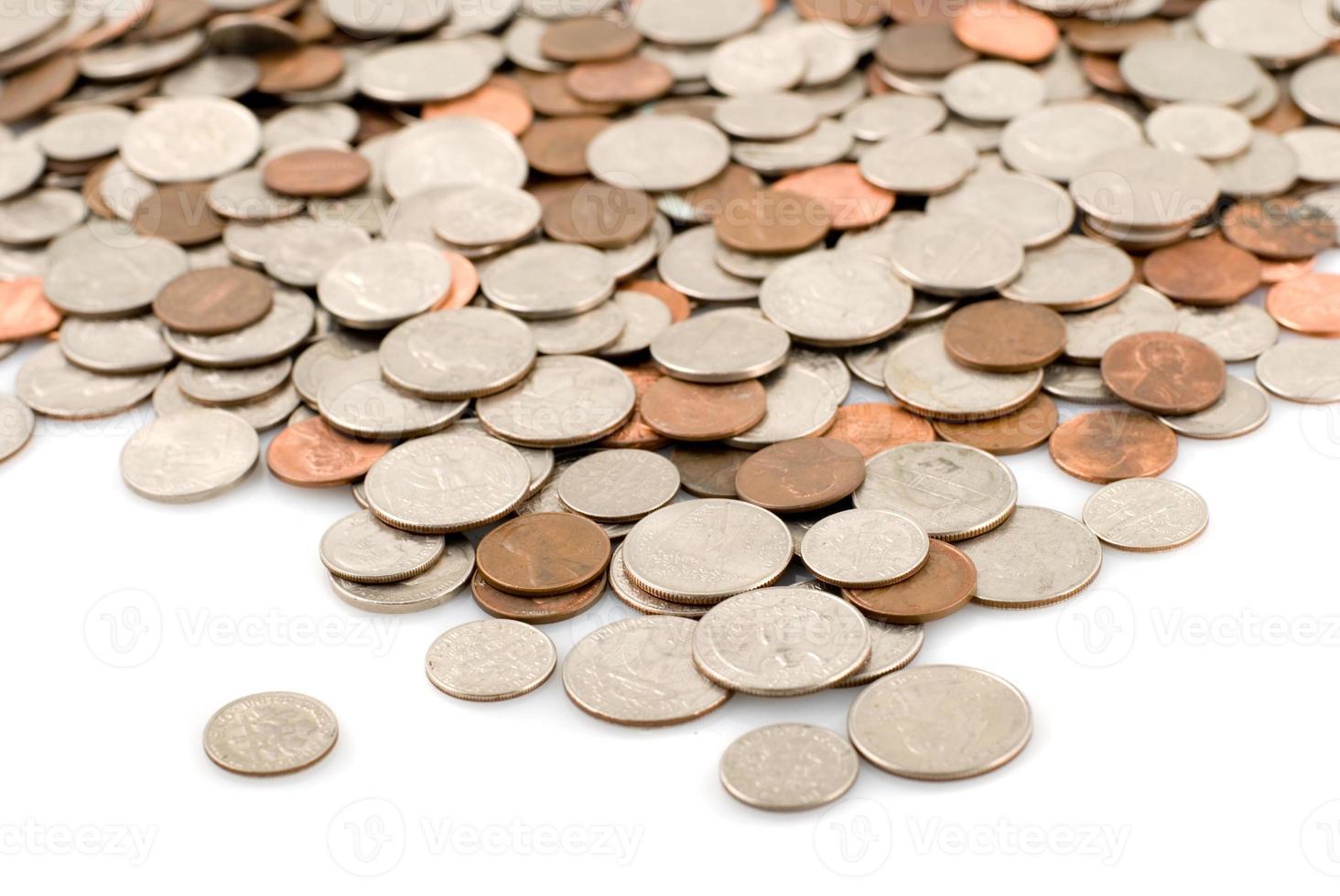 río de monedas foto