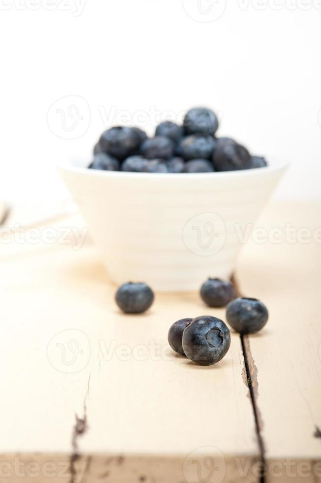 fresh blueberry bowl photo