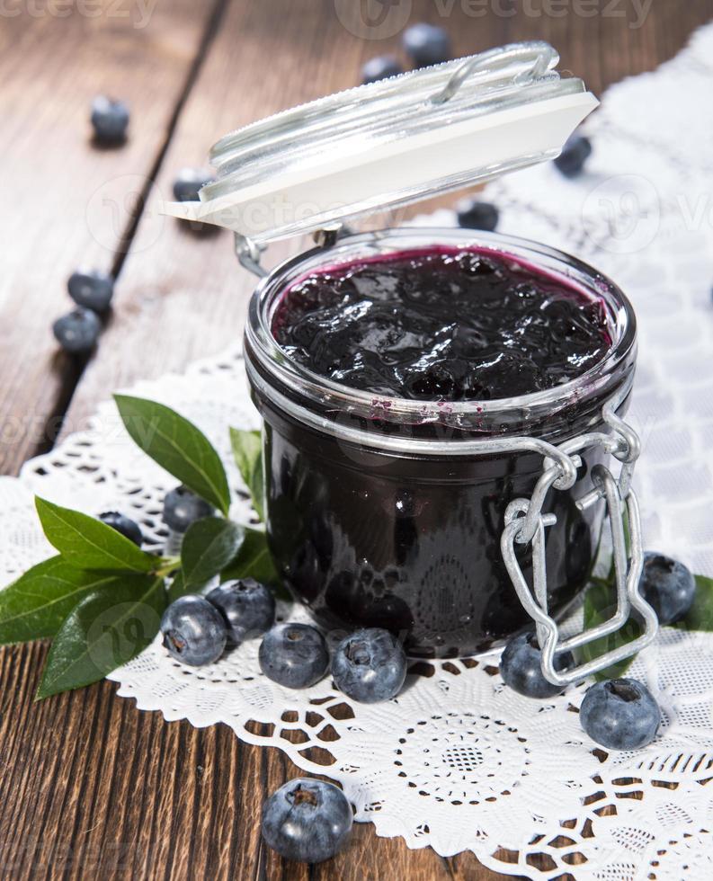 Homemade Blueberry Jam photo