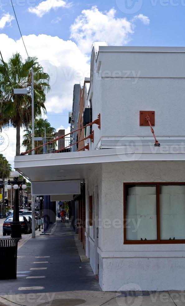 bâtiment de magasin du coin photo