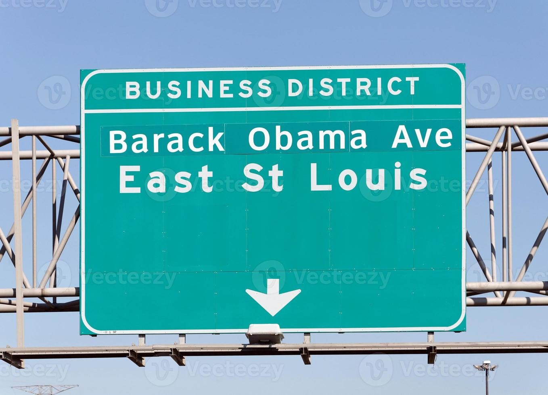 Barack Obama Avenue foto