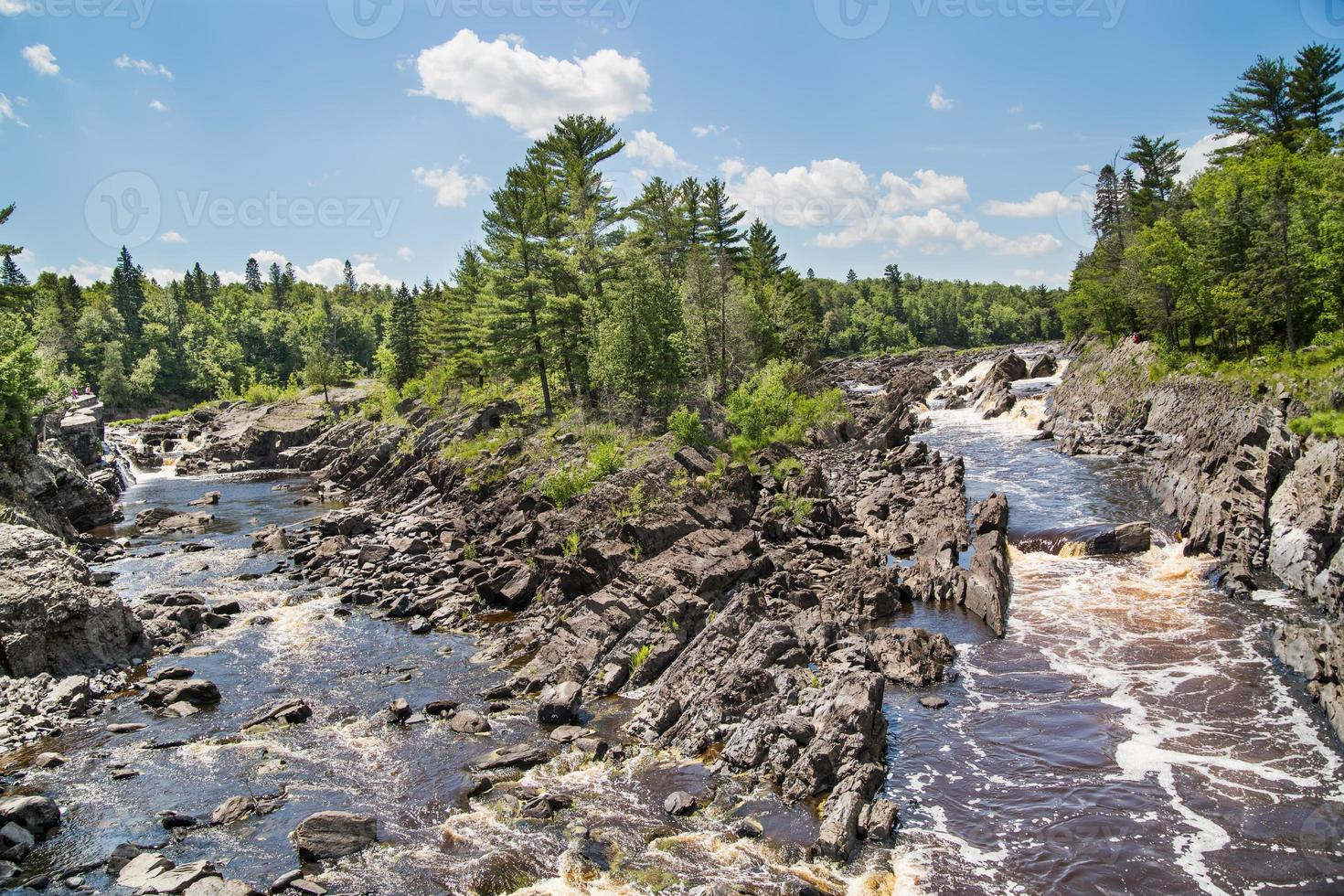 View of the St. Louis River in Jay Cooke Park photo