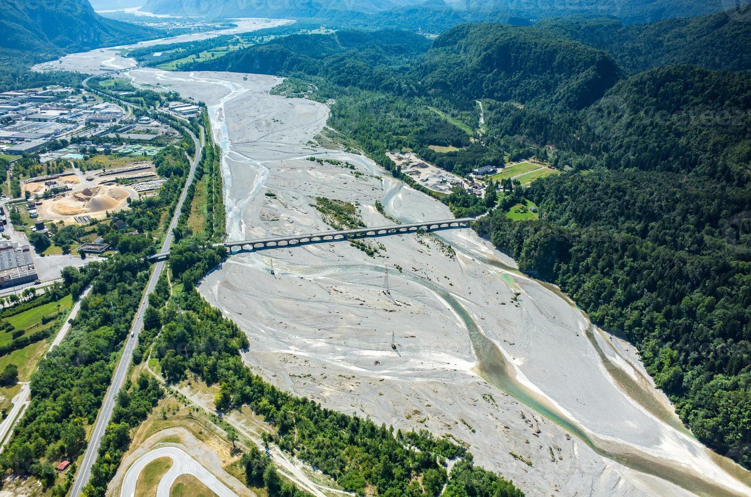 Tagliamento river photo
