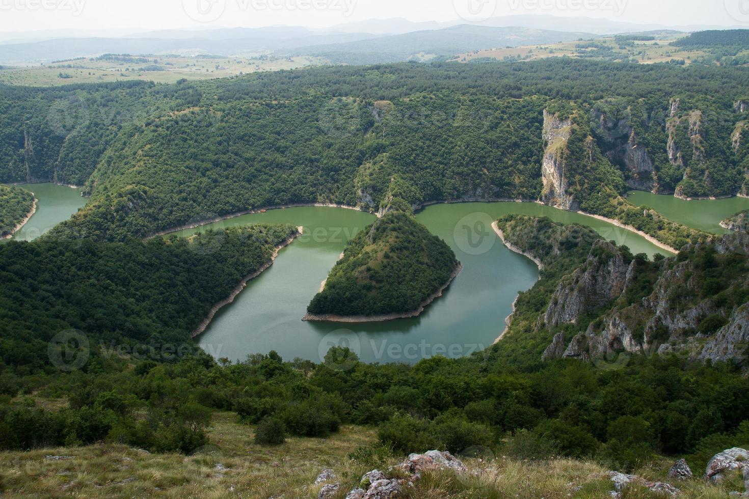río Uvac foto