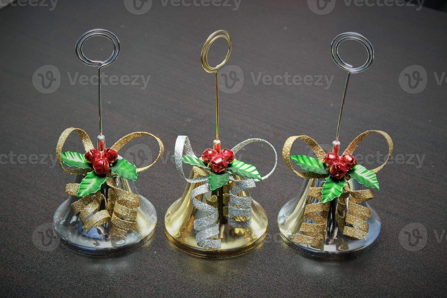 campanas de navidad foto
