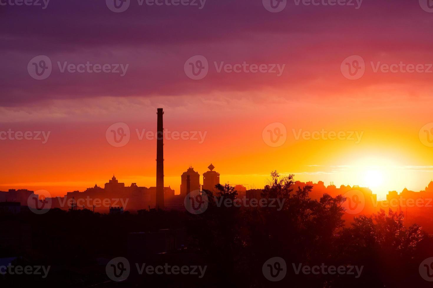 amanecer de verano foto