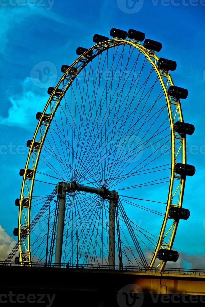 volante de Singapur foto