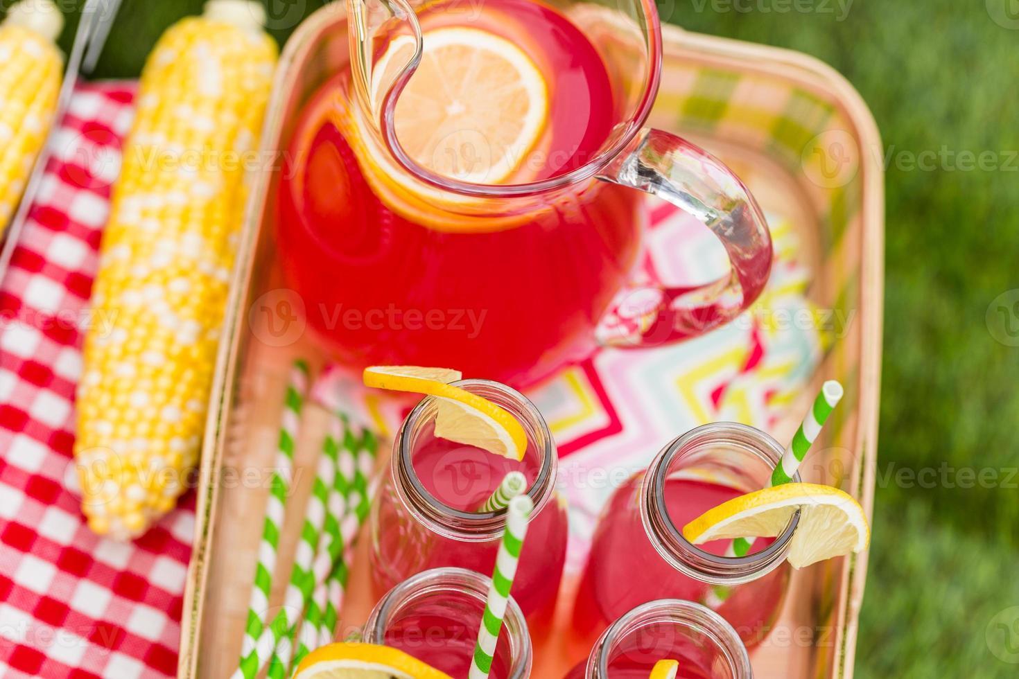 picnic de verano foto