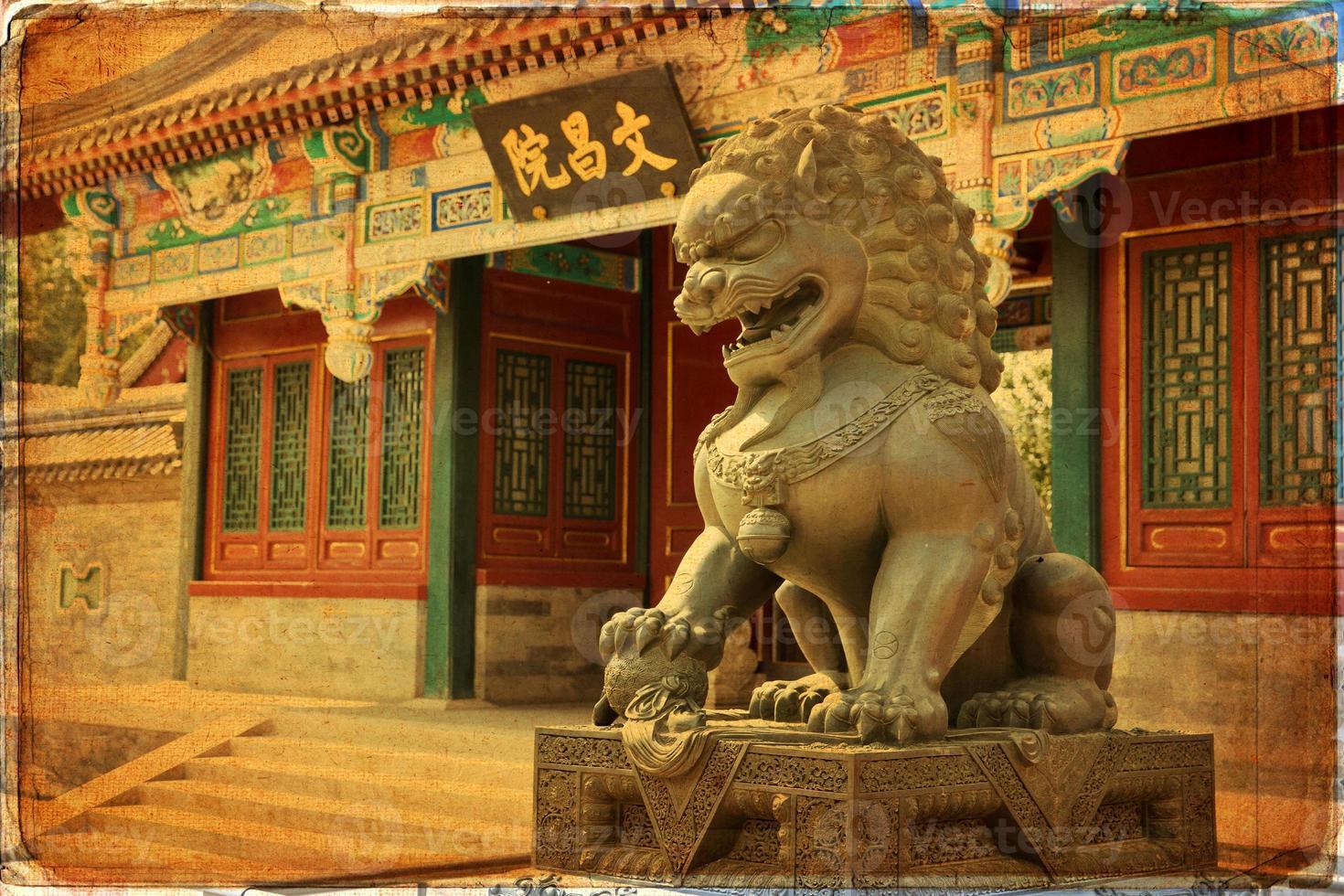 Beijing, palacio de verano foto