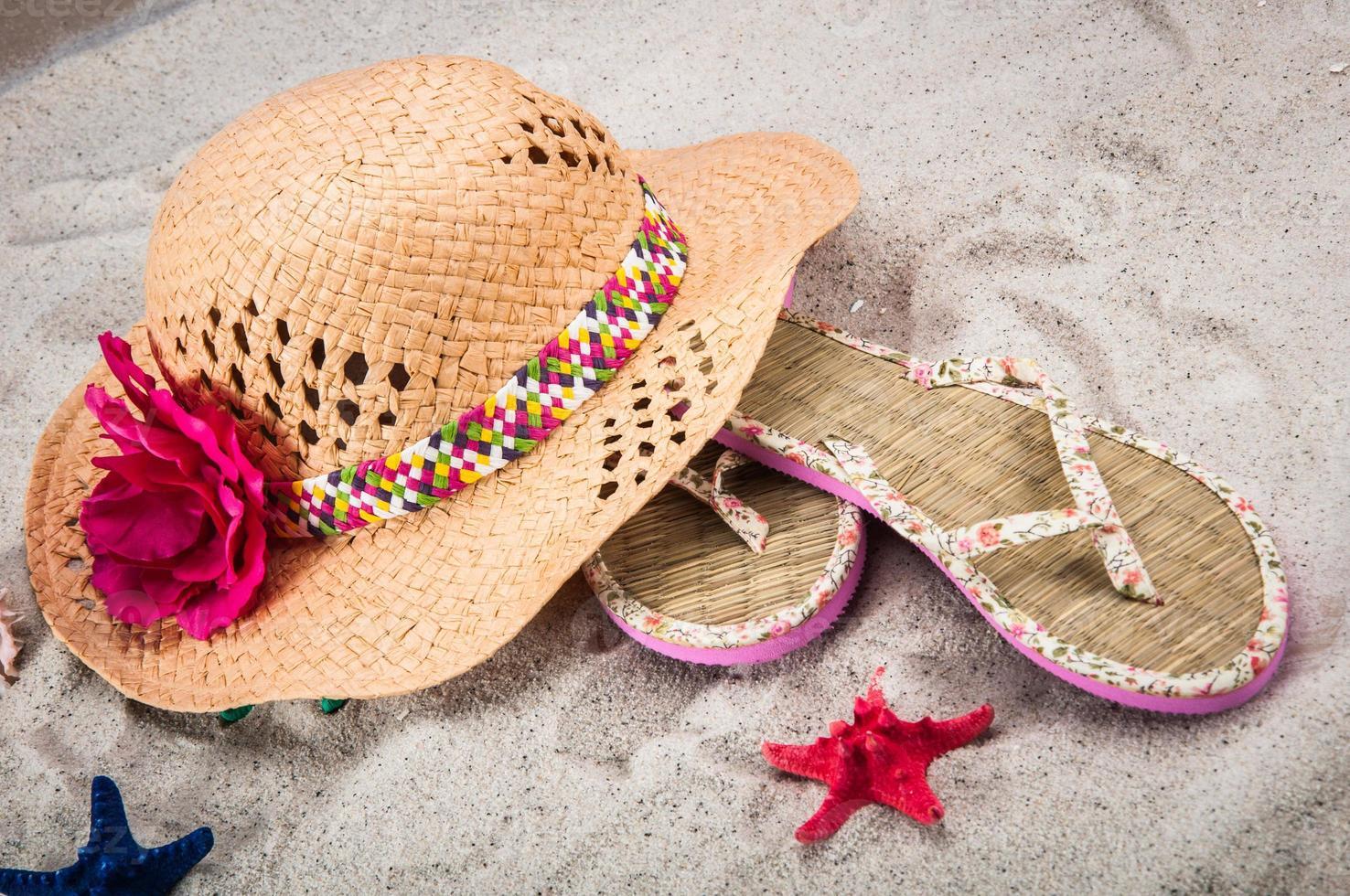 Holidays summer concept photo