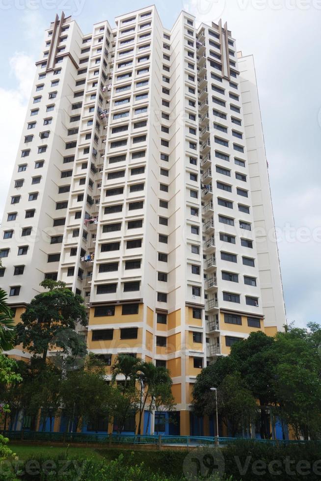 vivienda de gran altura en singapur foto