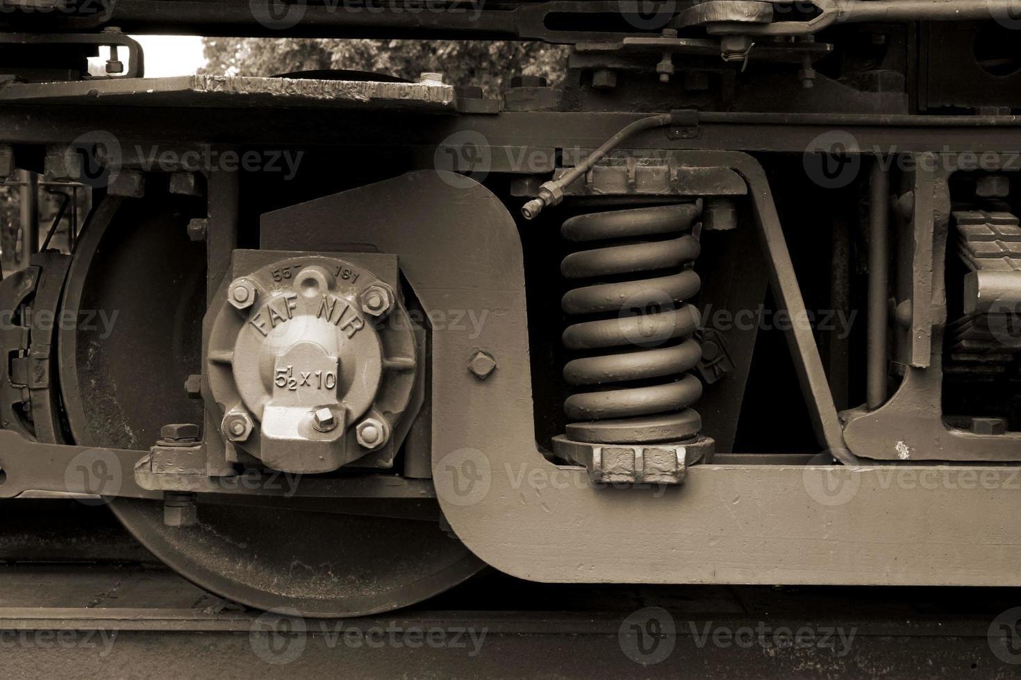 Railrowd wheel photo