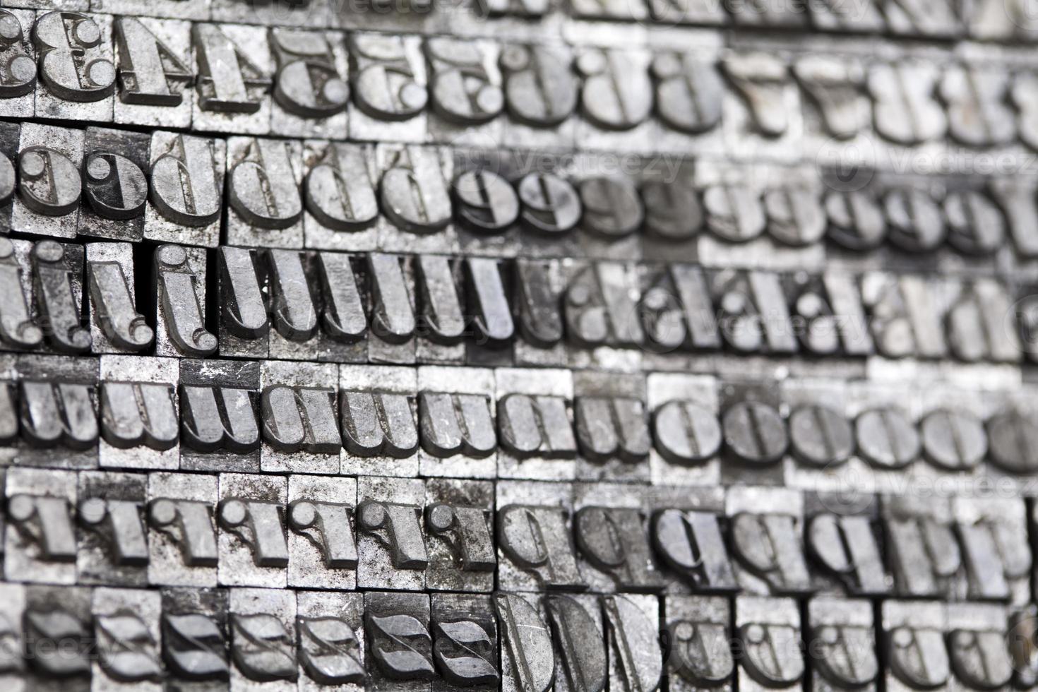 Typography style photo