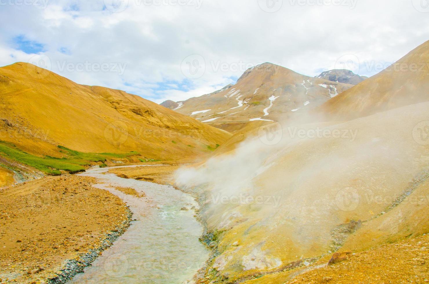 paisaje de islandia kerlingarfjöll foto