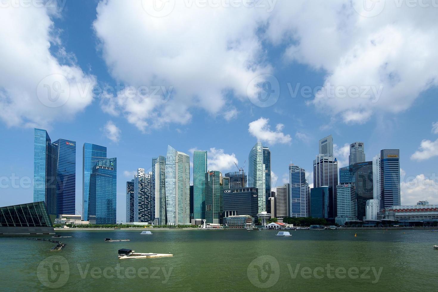 distrito central de negocios de singapur foto