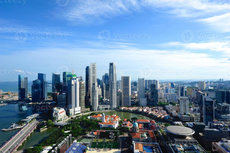 horizonte de singapur foto