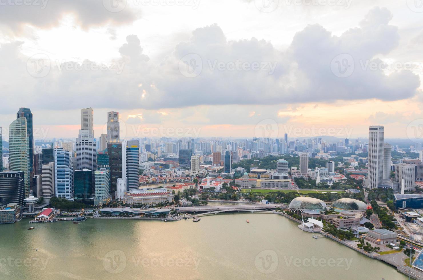 Singapore downtown photo