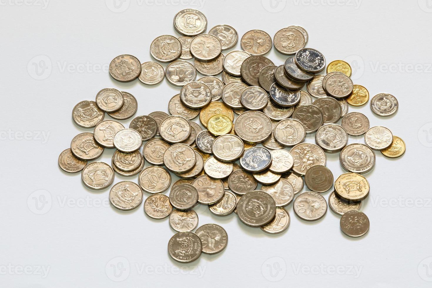 moneda de singapur foto