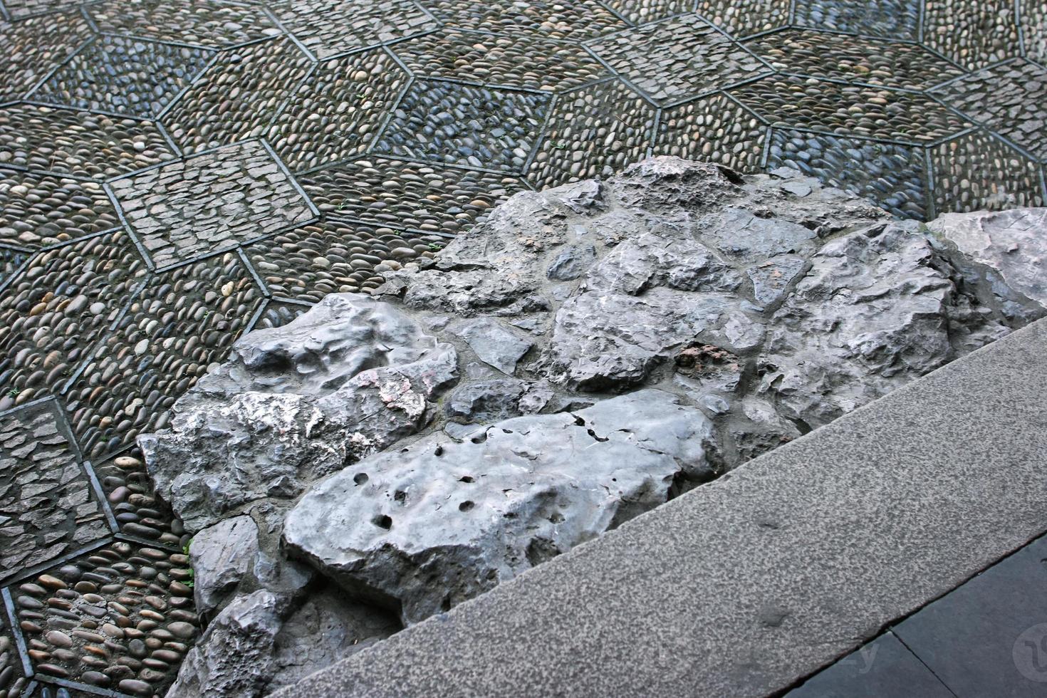 textura de pasos foto