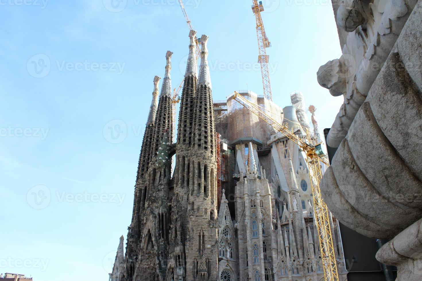 Basílica de la Sagrada Familia, Barcelona, España foto
