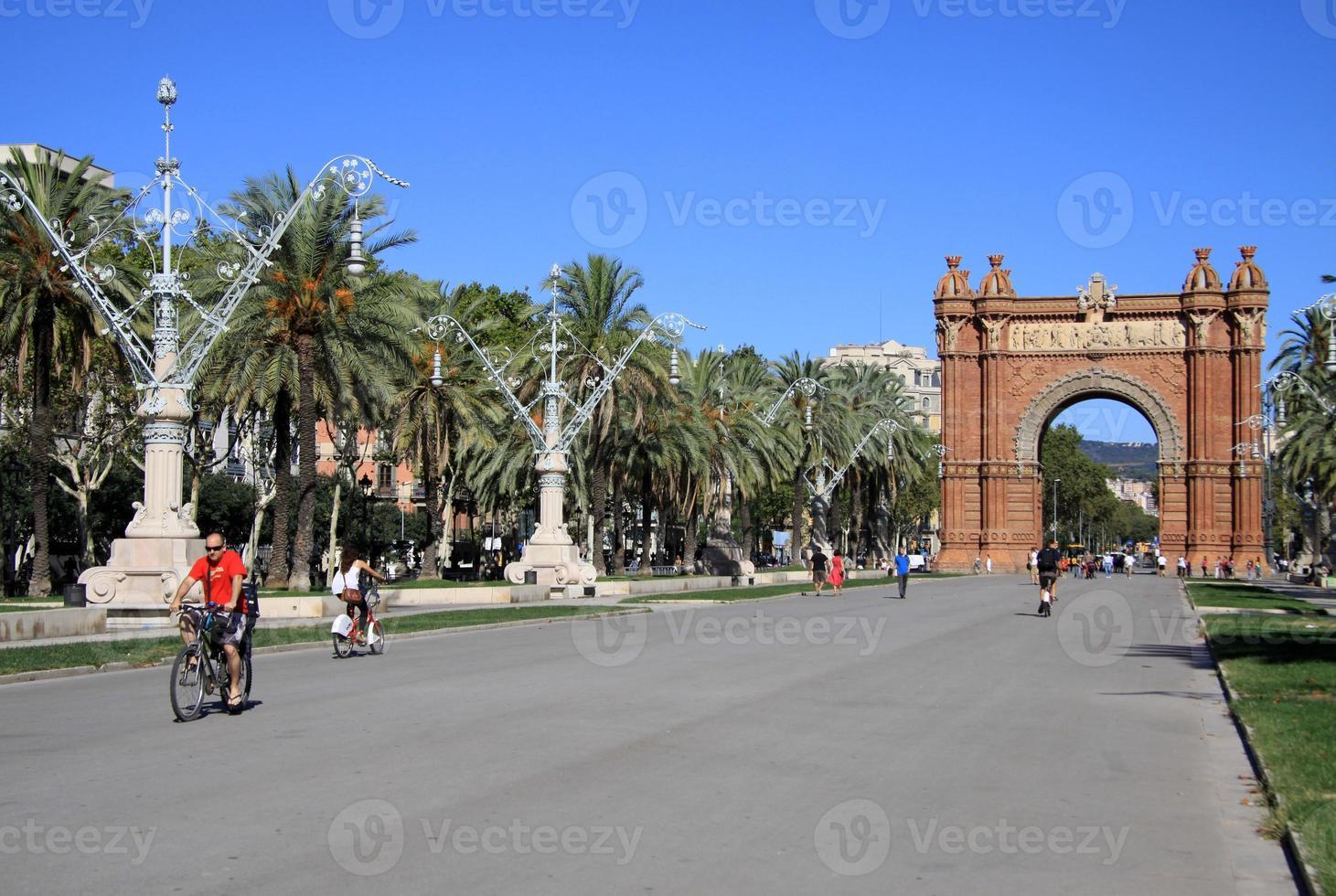 Arc de Triomf, Barcelona, Catalunya, Spain photo