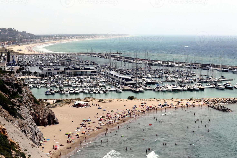 barcelona, españa, playa foto
