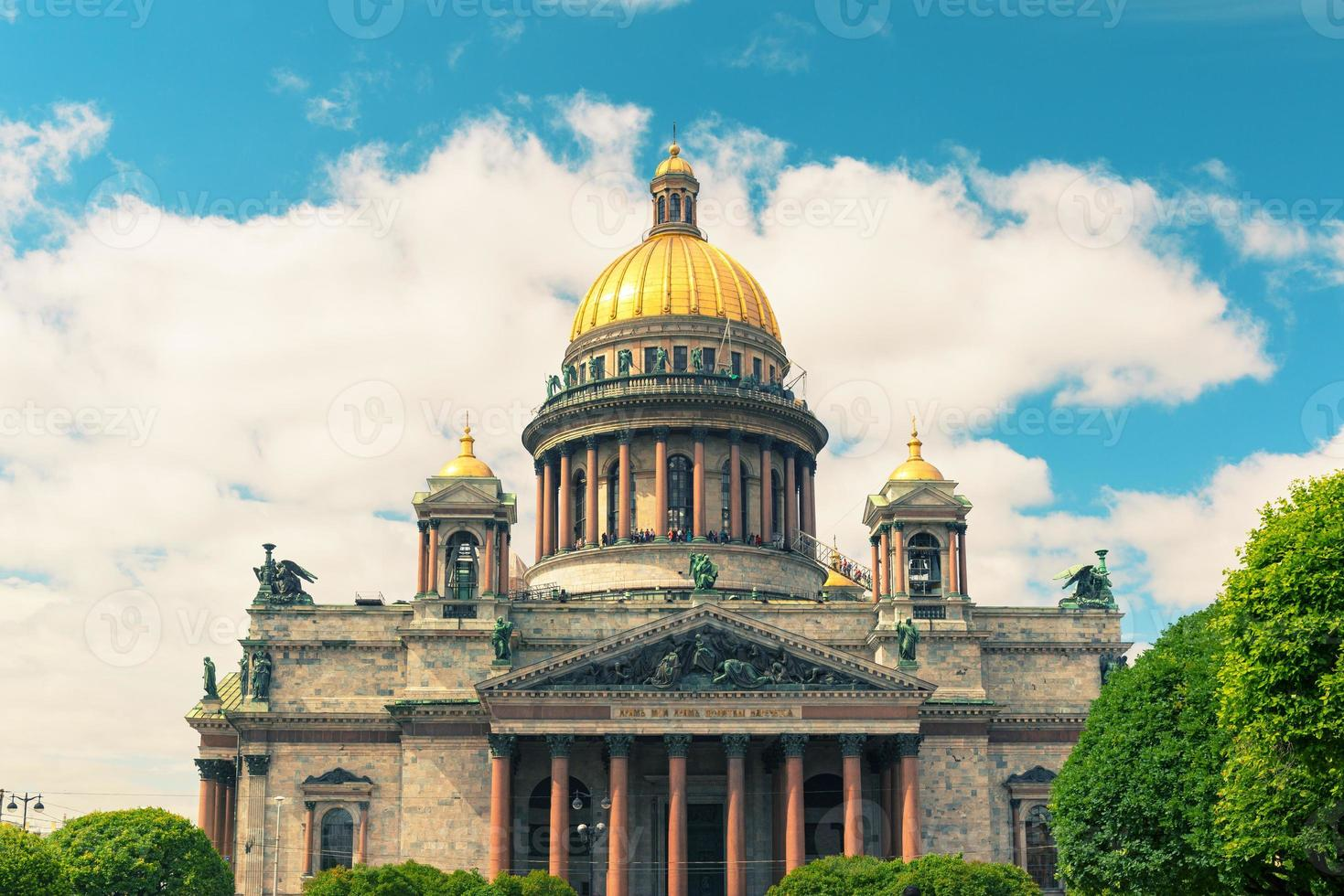 Saint Isaac's Cathedral in Saint Petersburg, Russia photo