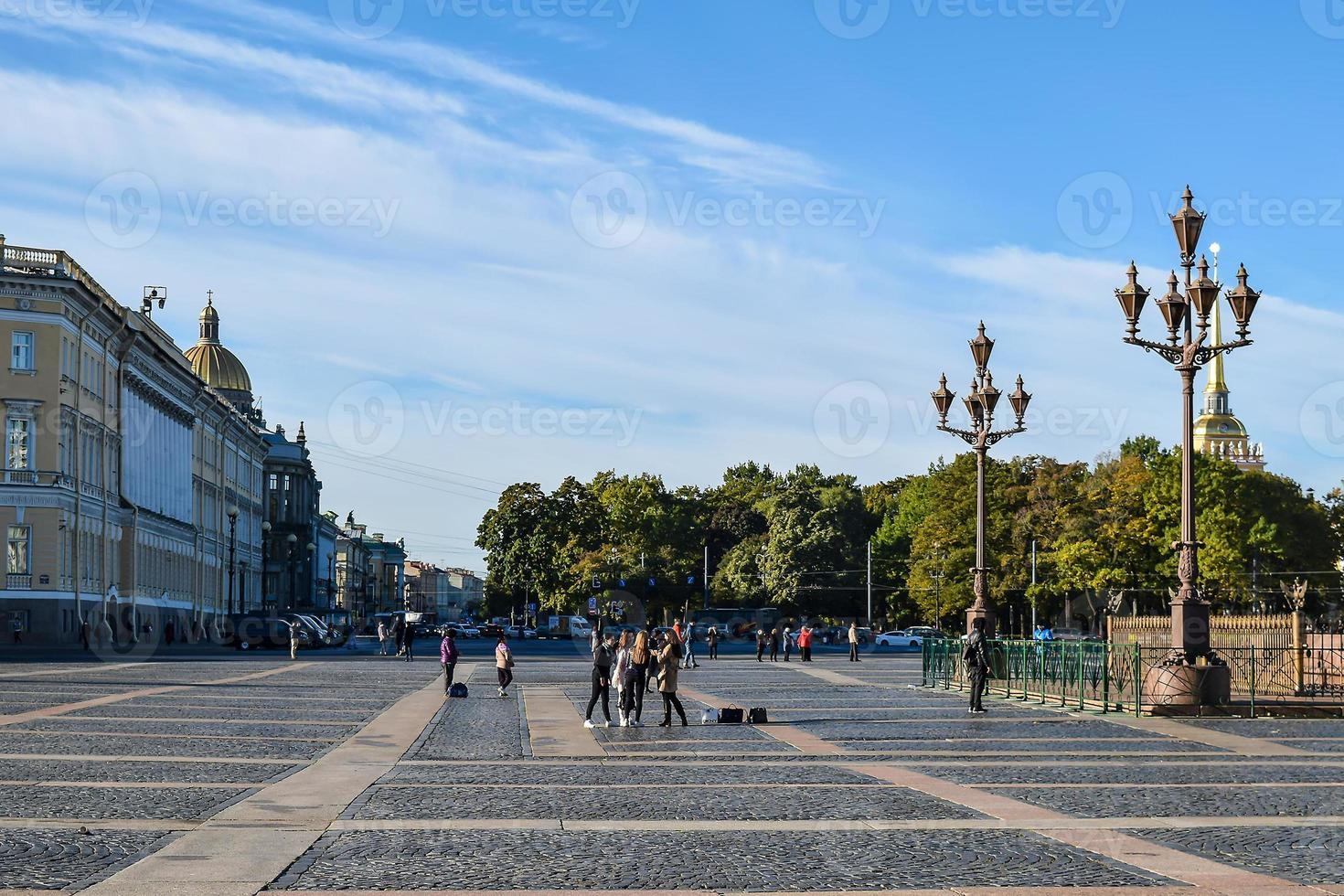 Palace Square in St. Peterbsurg, Russia. photo