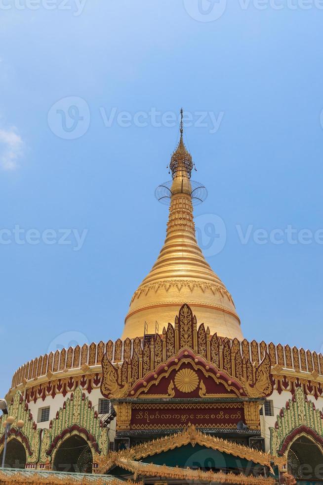 Kaba Aye pagoda in Yangon, Burma (Myanmar) photo
