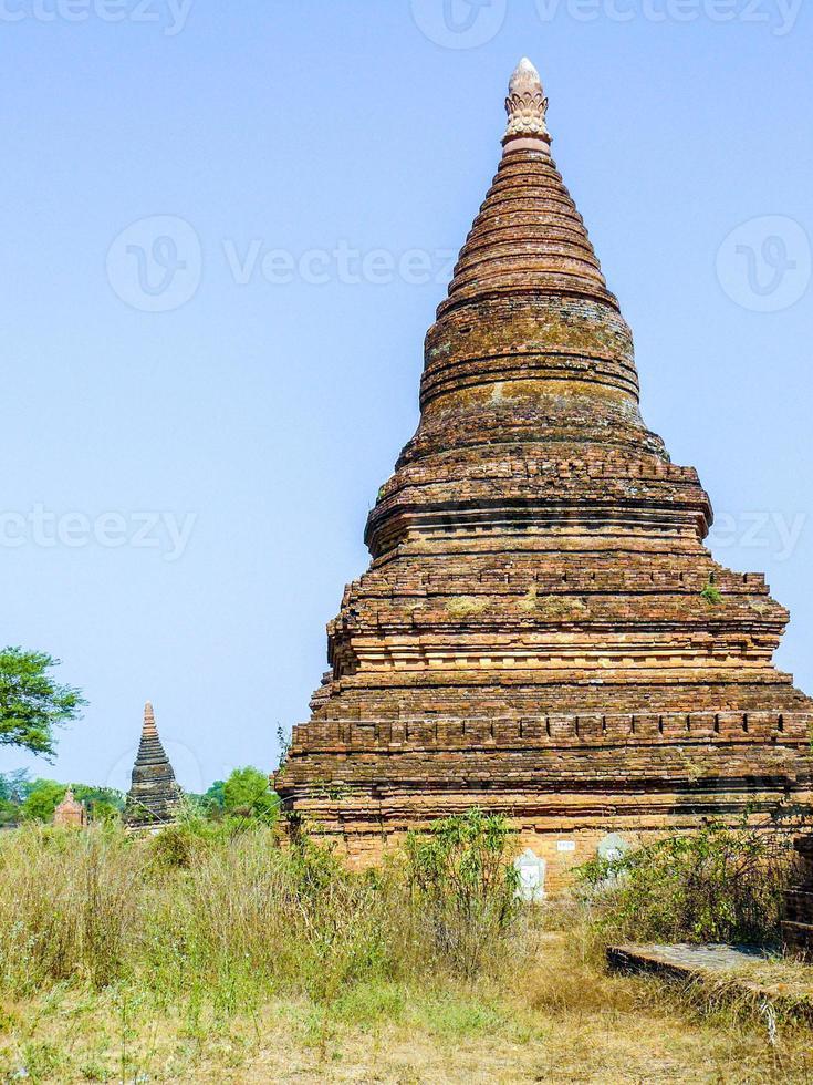 pagoda in Bagan(Pagan), Mandalay, Myanmar photo