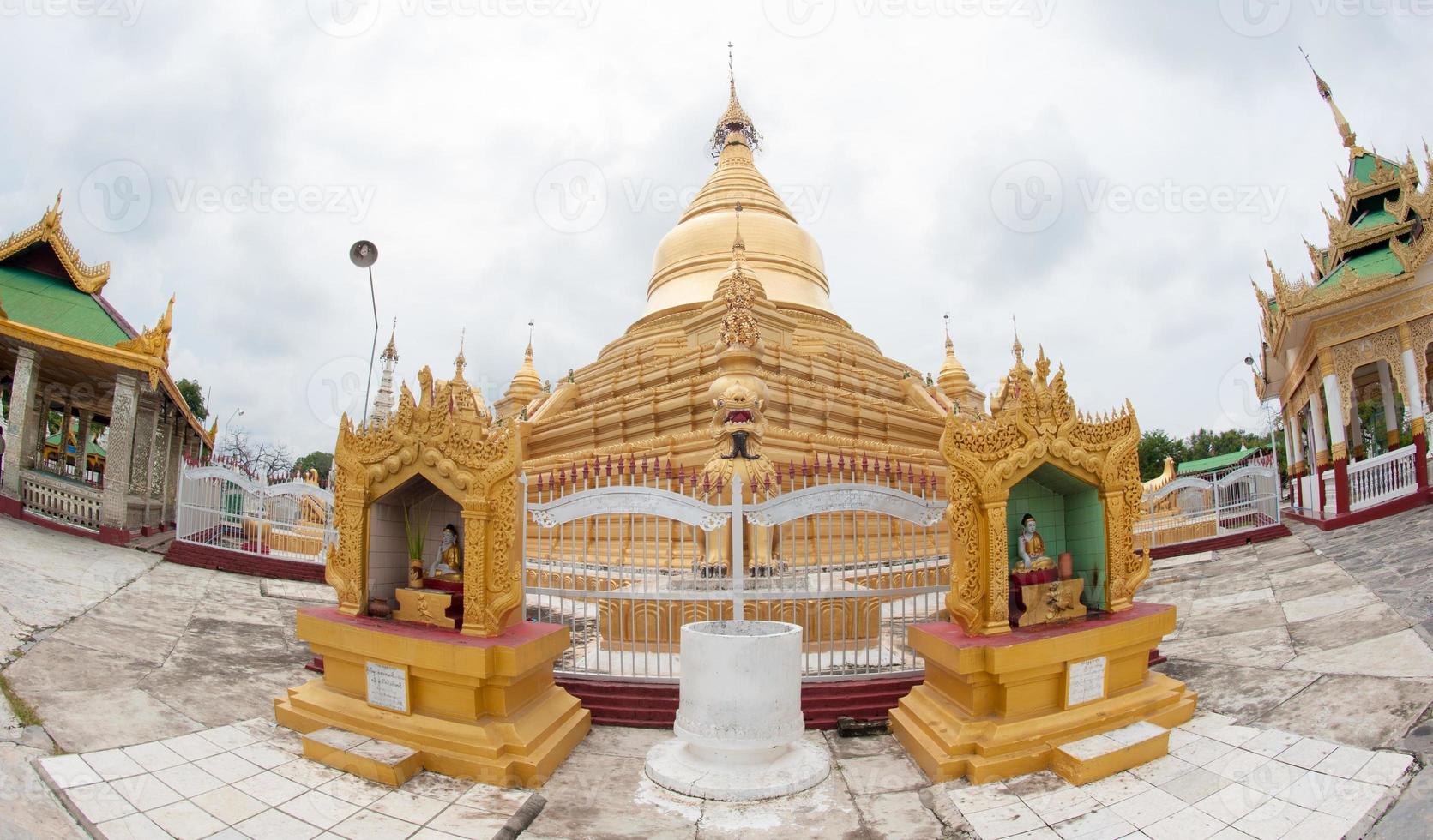 Shwedagon Paya Pagoda, Yangon, Myanmar photo