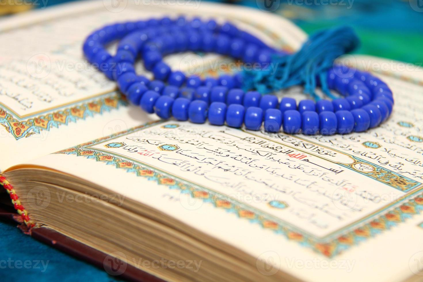 Reading The holy Quran photo
