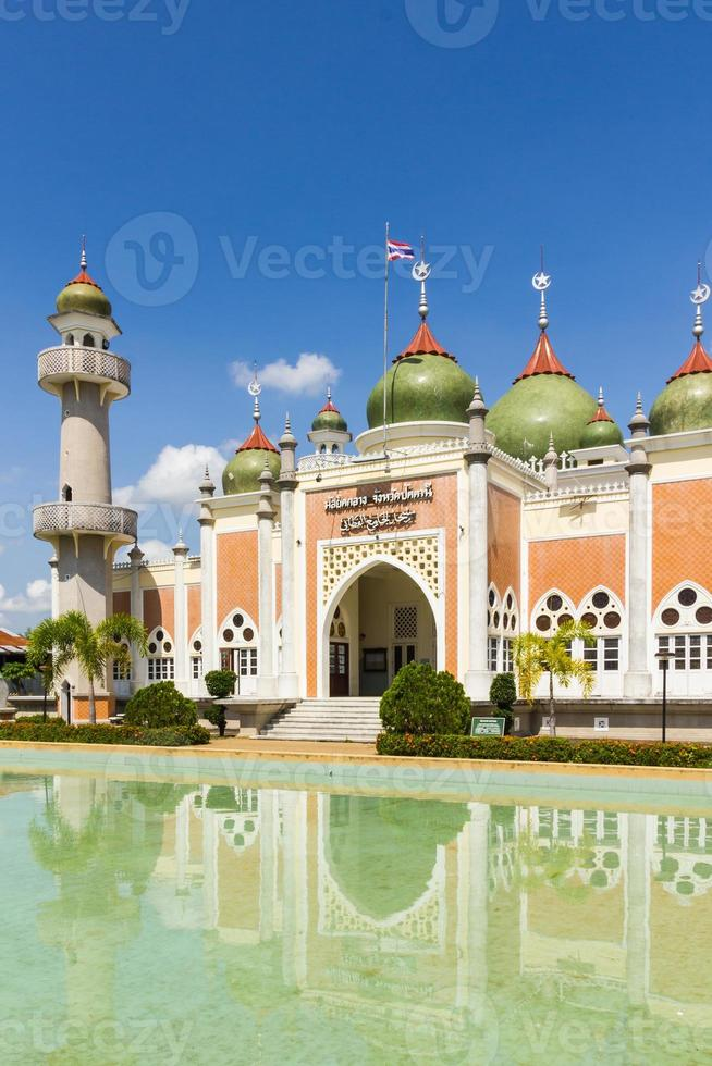 Pattani central mosque,thailand photo