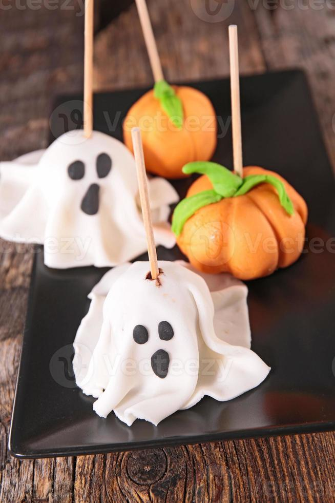 cake pop halloween foto
