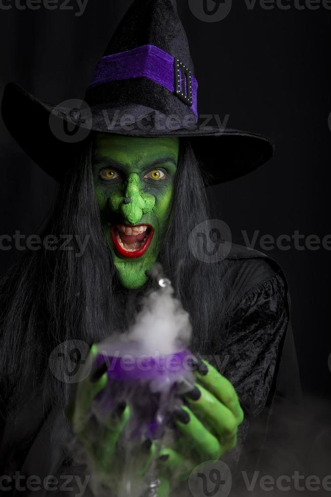 The Scary witch. photo