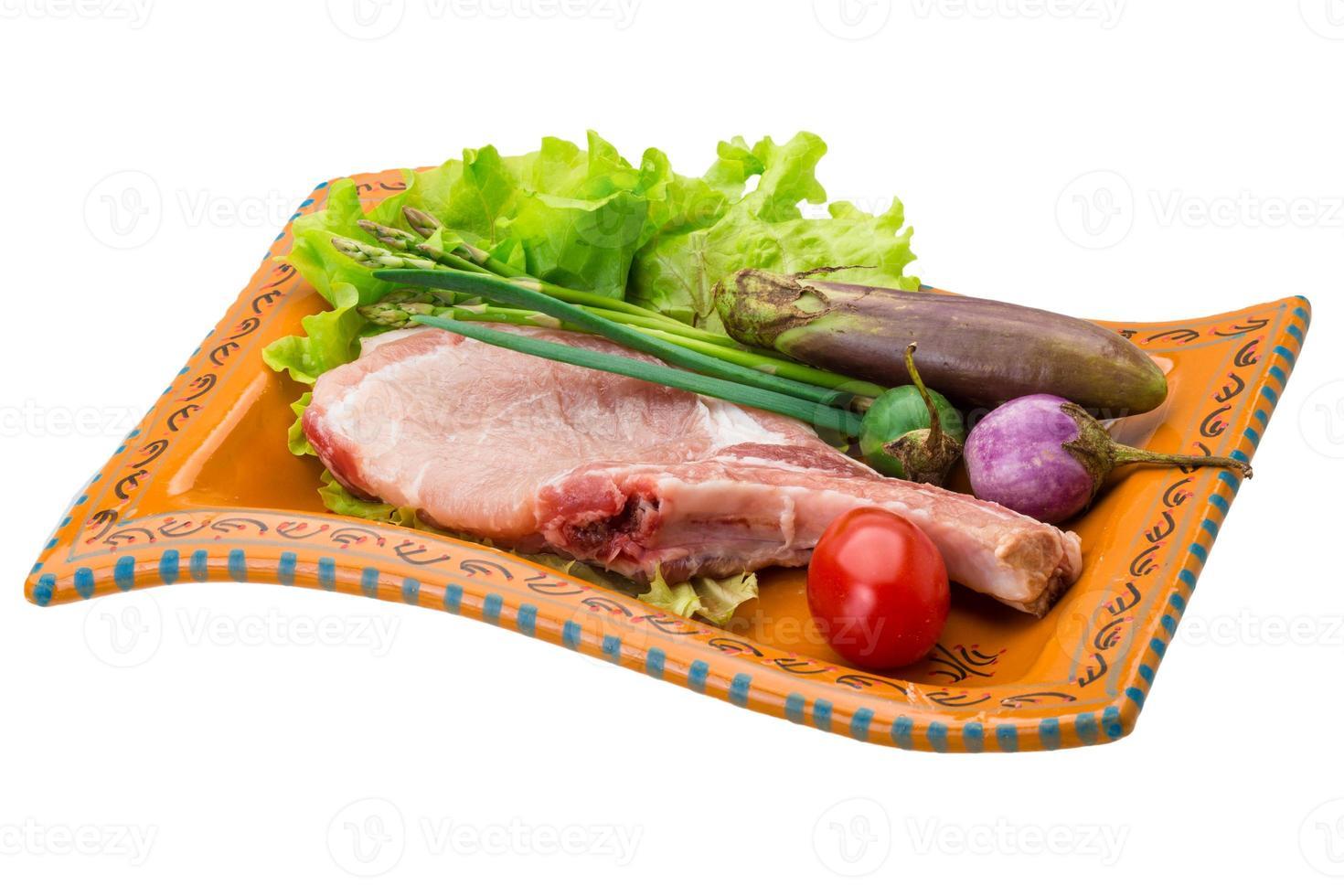 filete crudo foto