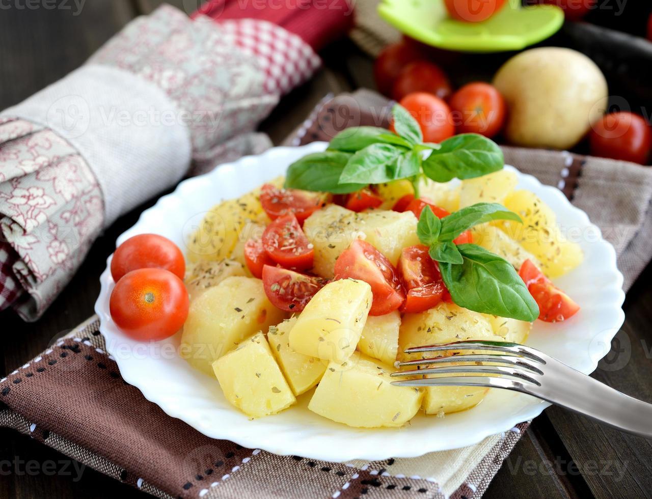 potatoes salad photo