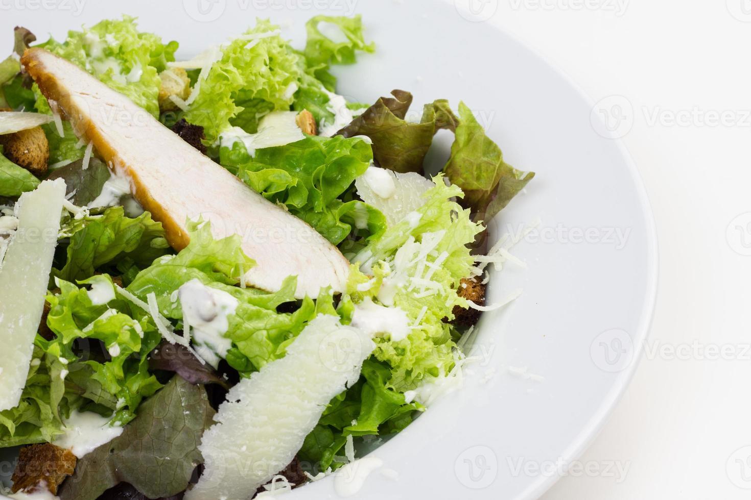 Caesar salad. photo