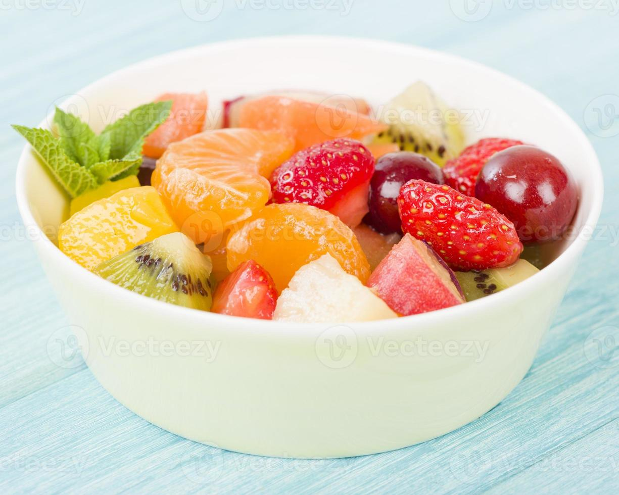ensalada de fruta fresca foto